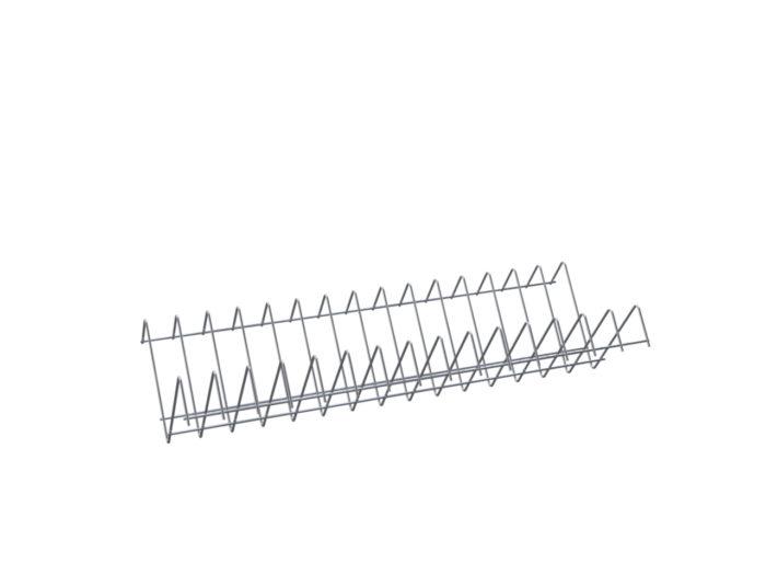 Полка для крышек под шкаф ШЗДП-4-1200-02