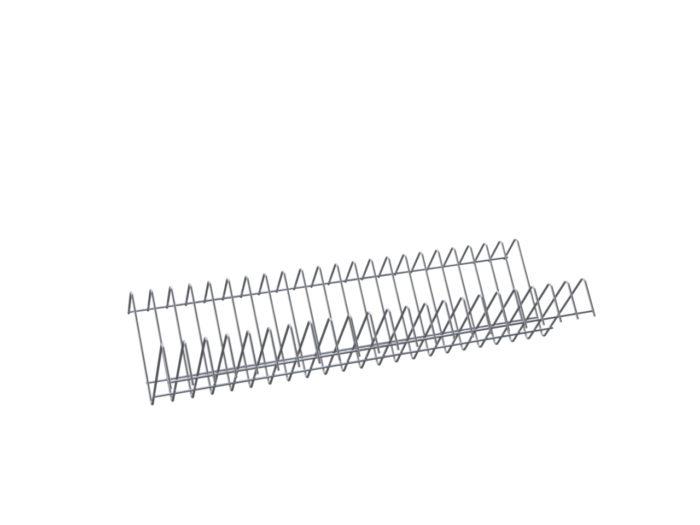 Полка для тарелок под шкаф ШЗДП-4-1200-02