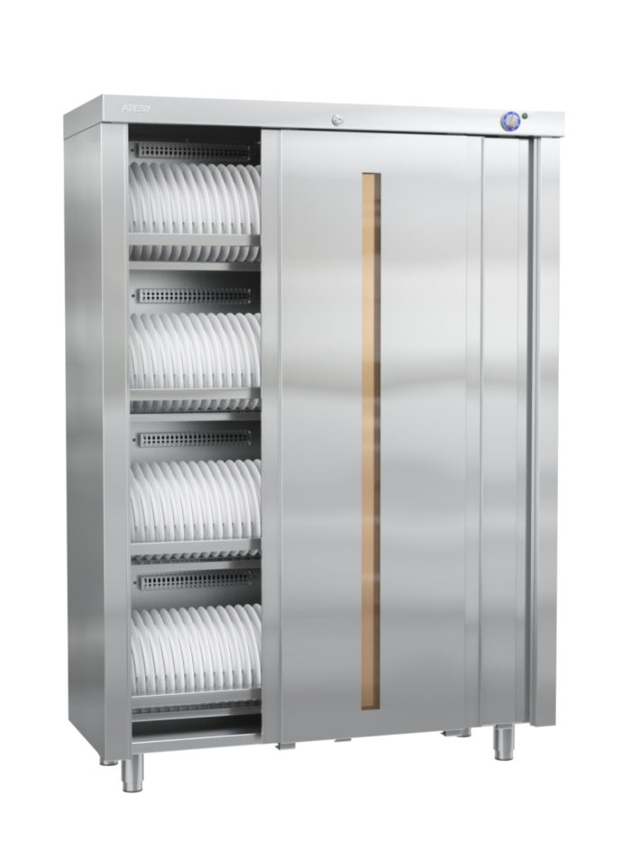 Шкаф закрытый для стерилизации столовой посуды и кухонного инвентаря ШЗДП-4-1200-02