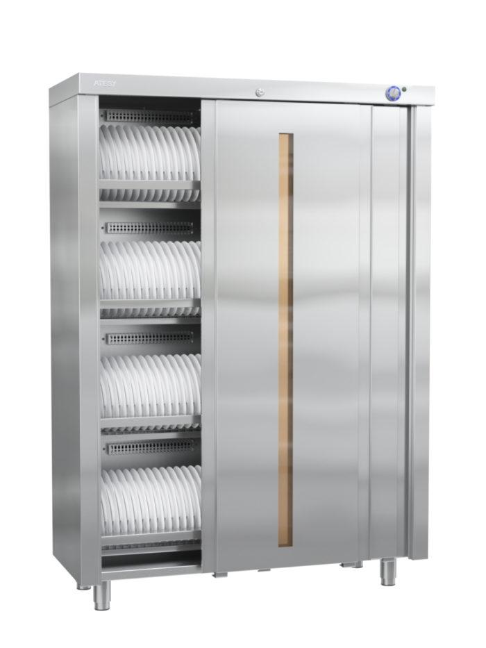 Шкаф закрытый для стерилизации столовой посуды и кухонного инвентаря ШЗДП-4-950-02