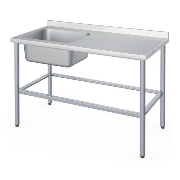 Ванна моечная цельнотянутая со столом Атеси ВСМЦС-П-1